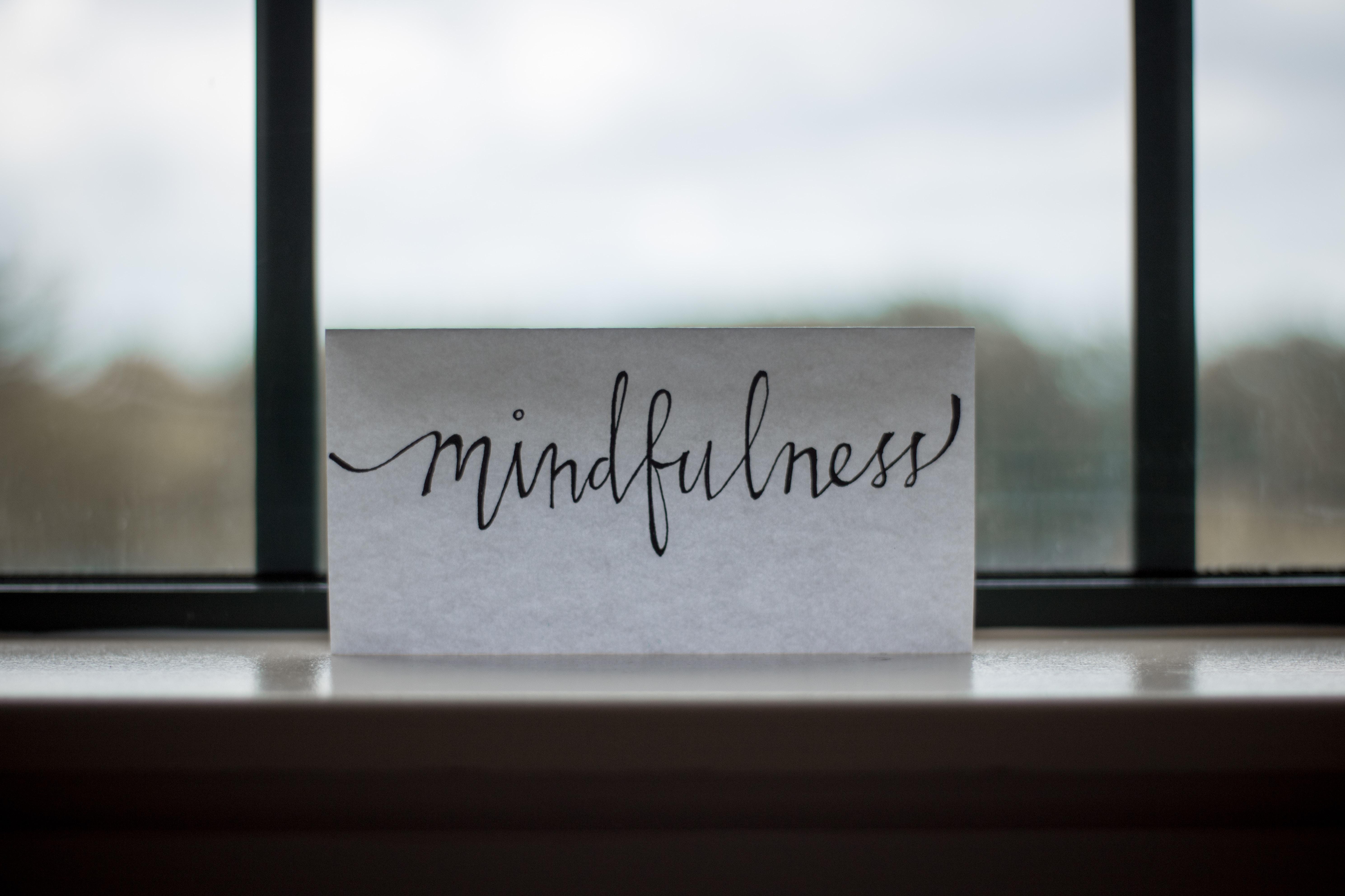 mindfulness op papier